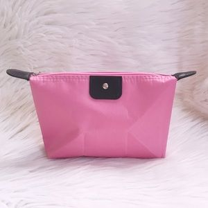 Handbags - Pink cosmetic pouch